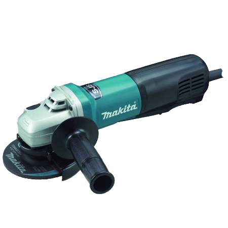 "Makita 9564PC 4 1/2"" SJS High Power Paddle Switch Angle Grinder - AMMC"