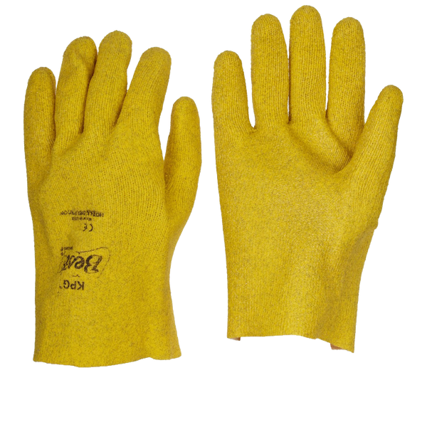 FUZZY DUCK PVC COATED  JERSEY LINED GLOVES - AMMC