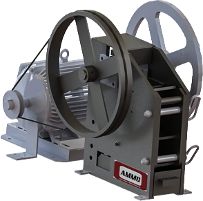 AMMC J1A01 Laboratory Jaw Crusher - AMMC - 1
