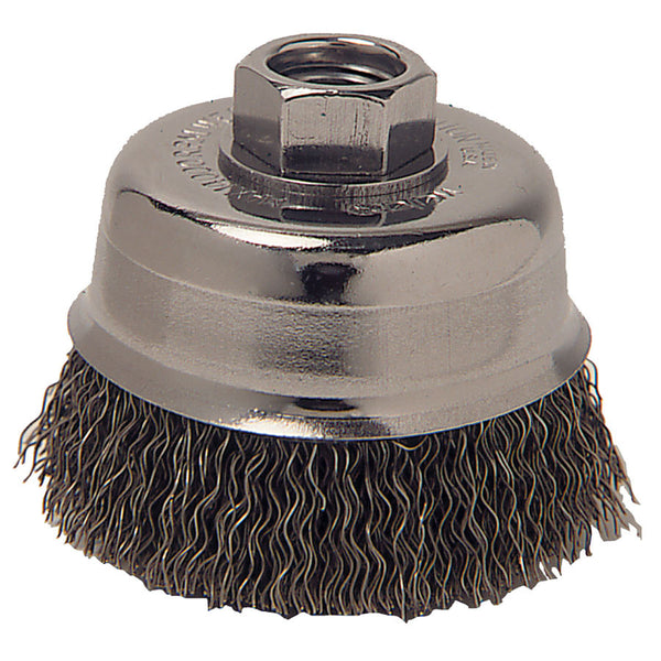 "Anchor Crimped Cup 4"" Wire Brush - AMMC"