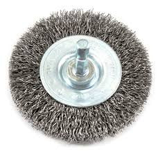 "Anchor 3"" Crimped Wheel Brush - AMMC"