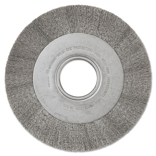 "Anderson DA Series Medium Face 8"" Crimped Wire Wheel - AMMC"