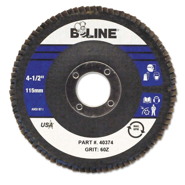 "B-Line Type 29 4-1/2"" Flap Disc - AMMC"