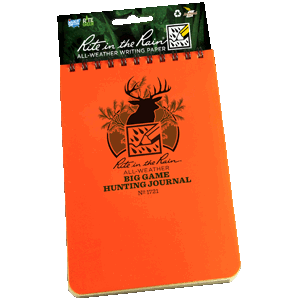 Rite in the Rain 1721 Big Game Hunting Journal - AMMC