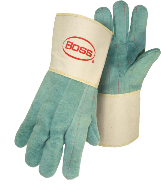 Boss 1BC43300 2-Ply Hot Mill Nap-Out with Gauntlet Cuff - AMMC