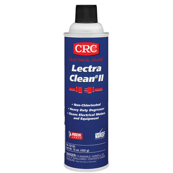 CRC Lectra Clean II Non-Chlorinated Heavy Duty Degreaser (Case of 12) - AMMC