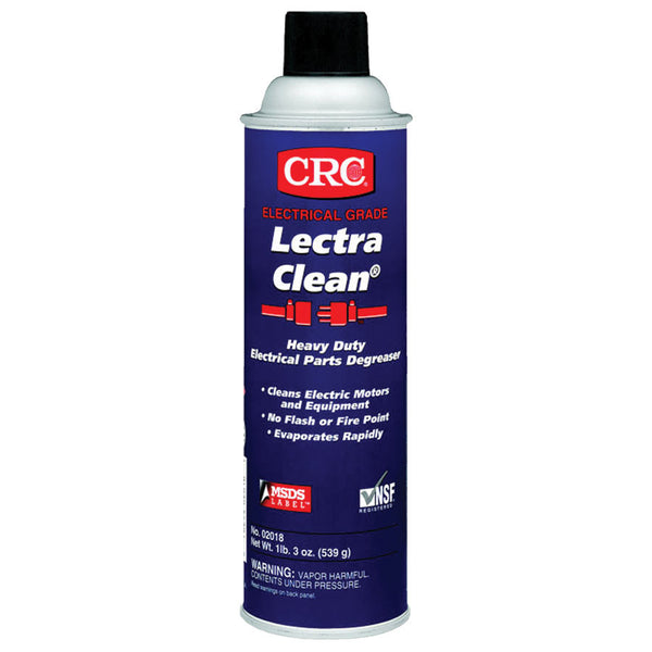 CRC Lectra Clean Heavy Duty Degreaser Aerosol (Case of 12) - AMMC
