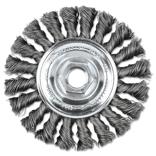 "Eagle General Purpose 4"" Knot Wire Wheel Brush - AMMC"