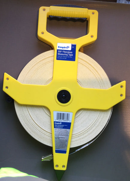 Empire 300' fiberglass tape measure - AMMC