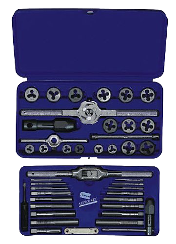 Irwin Tools Fractional/Metric Tap & Die Super Set - AMMC