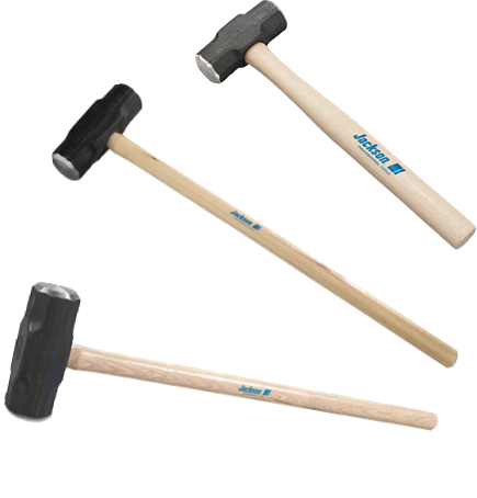 Jackson Double Face Sledge Hammer with Hickory Handle - AMMC