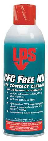LPS CFC Free Electro Contact Cleaner (Case of 12) - AMMC