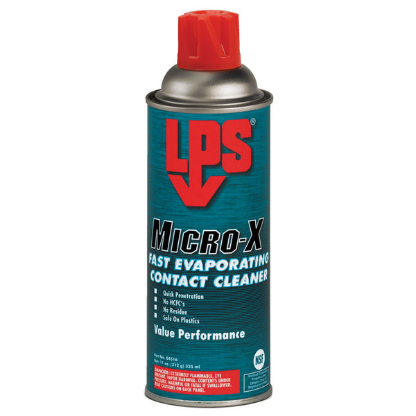 LPS Micro-X Fast Evaporating Contact Cleaner (Case of 12) - AMMC