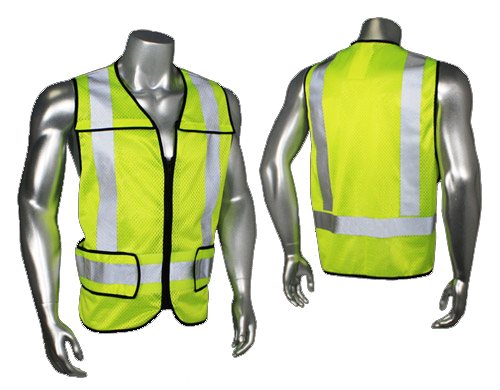 Radians LHV-5-PC-ZR-R Safety Vest - AMMC