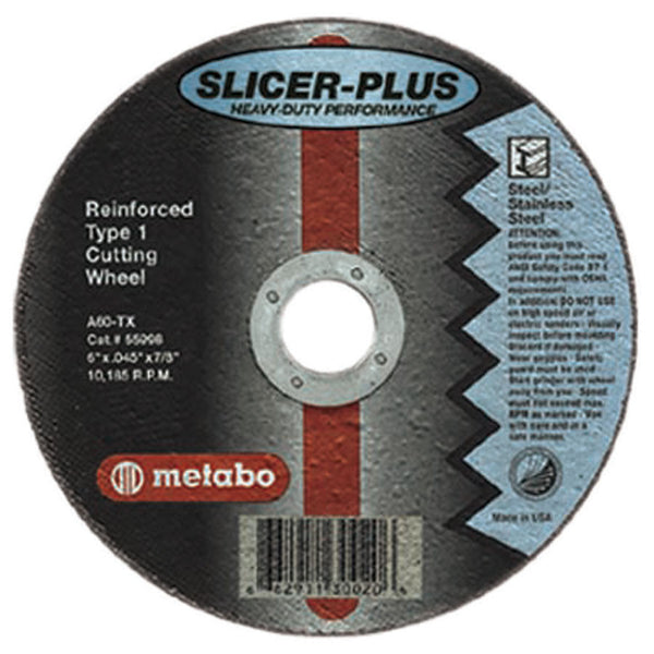 Metabo Slicer Plus High Performance Cutting Wheels - AMMC