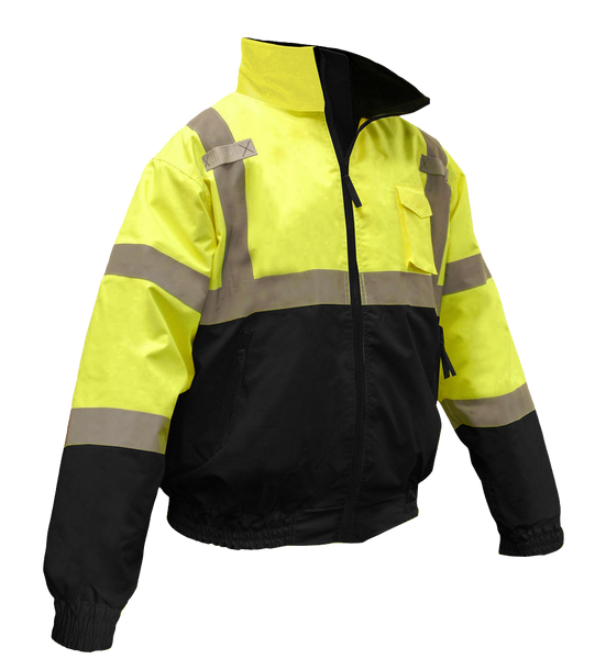 Radian Class 3 Two-In-One High Visibility Bomber Safety Jacket - AMMC - 2