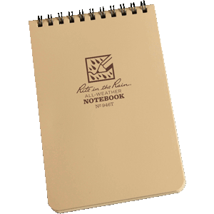 Rite in the Rain 946T Pocket Top Spiral Notebook - AMMC