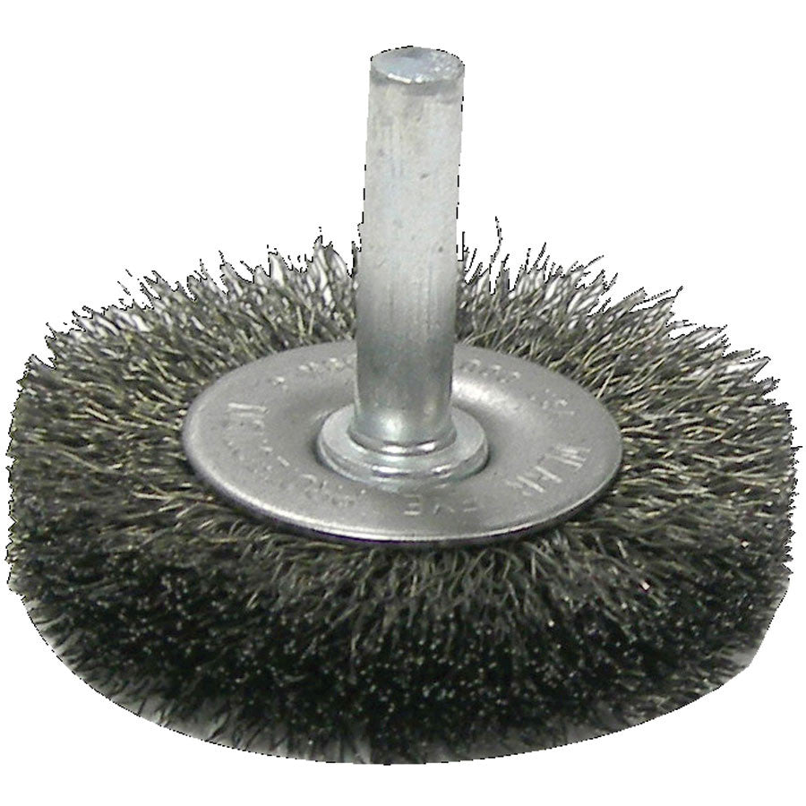 Weiler Crimped Wire Radial Wheel Brushes - 2\