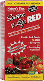 Nature's Plus Source of Life® RED Multi-Vitamin and Mineral Supplement -- 90 Tablets
