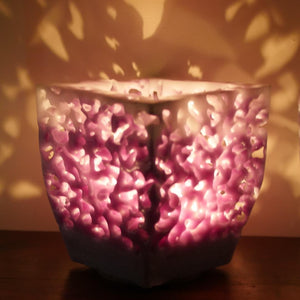 Lacy Wax Lanterns