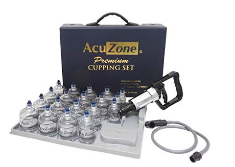 AcuZone Premium Cupping Set