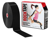 "RockTape Uncut Bulk Kinesiology Tape - 2"" X 105' Roll - Black"