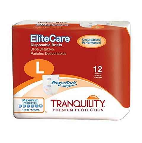 Tranquility EliteCare Disposable Briefs