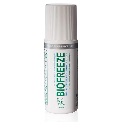 Biofreeze Pain Relief Gel - Roll on - 3oz