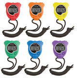 Champion Sports Stopwatch Set (Pack of 6)