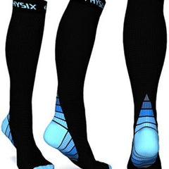 Physix Gear Compression Socks for Men & Women (20-30 mmhg)