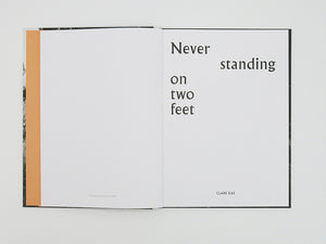 Clare Rae - Never standing on two feet