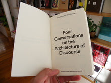 Load image into Gallery viewer, Aaron Levy and William Menking - Four Conversations on the Architecture of Discourse