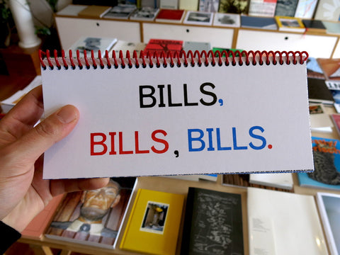 Benjamin Critton - BILLS, BILLS, BILLS.