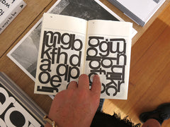 Experimental Jetset - Automatically Arranged Alphabets
