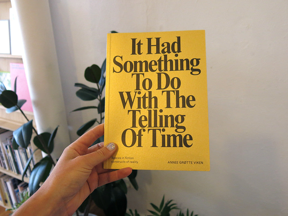 Annee Grøtte Viken - It Had Something To Do With The Telling Of Time
