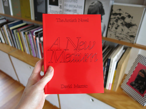 David Maroto – The Artist's Novel: A New Medium