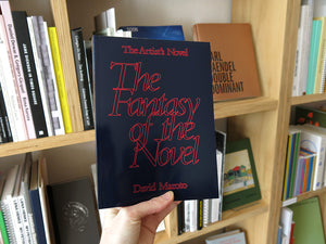 David Maroto – The Artist's Novel: The Fantasy of the Novel
