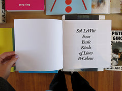 Sol LeWitt – Four Basic Kinds of Lines & Colour