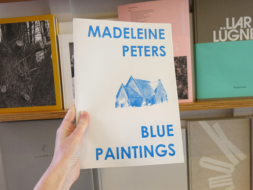 Madeleine Peters – Blue Paintings