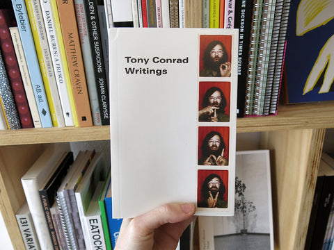 Tony Conrad – Writings