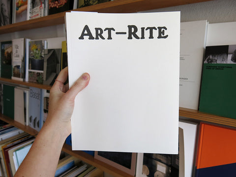 Edit DeAk and Walter Robinson – Art-Rite