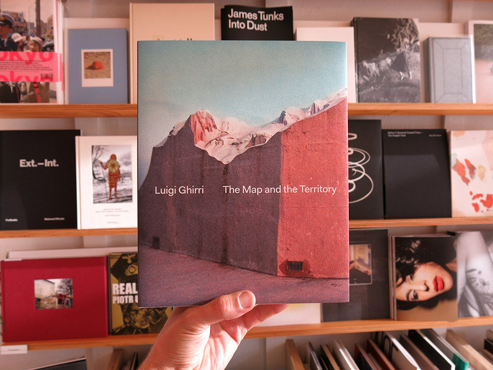 Luigi Ghirri – The Map and the Territory [Hardcover Reprint]