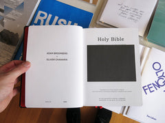 Adam Broomberg & Oliver Chanarin - Holy Bible