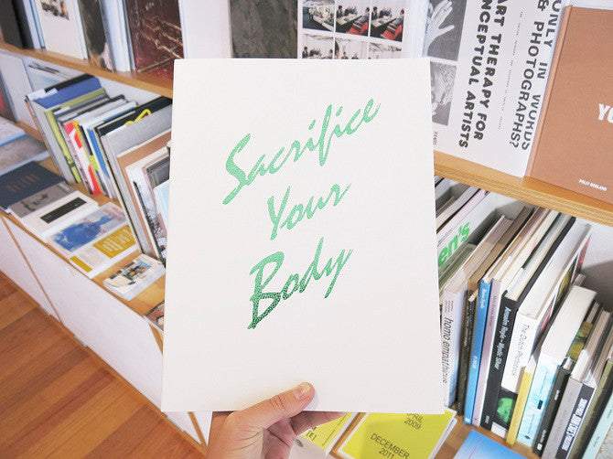 Roe Ethridge - Sacrifice Your Body