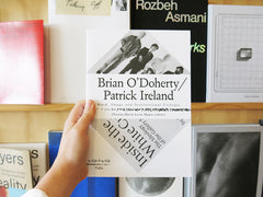 Brian O'Doherty / Patrick Ireland: Word, image and institutional critique