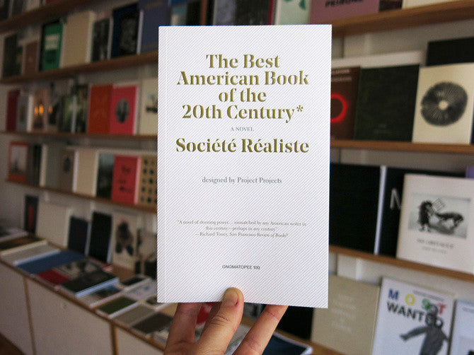 The Best American Book of the 20th Century - Société Réaliste
