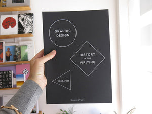 Graphic Design: History In The Writing 1983-2011