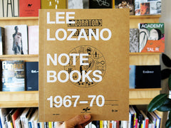 Lee Lozano – Notebooks 1967-70