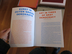 Alexandra Pirici, Pablo Helguera, Ulf Aminde - Art in Times of Gray Democracy