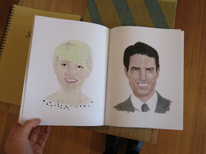 Jessirose Streker - portraits i painted of inspirational figures from around thw world